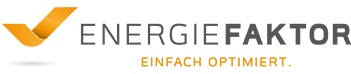 ENERGIEFAKTOR | EINFACH OPTIMIERT. Logo